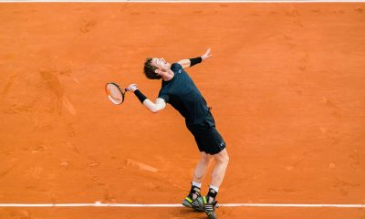 andy murray playing tennis at roland garros 2015