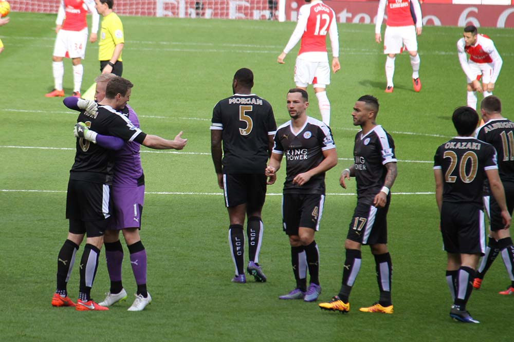 arsenal v leicester city premier league 2016