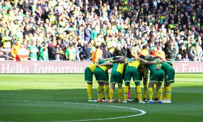 norwich city players and fans 30 april 2016