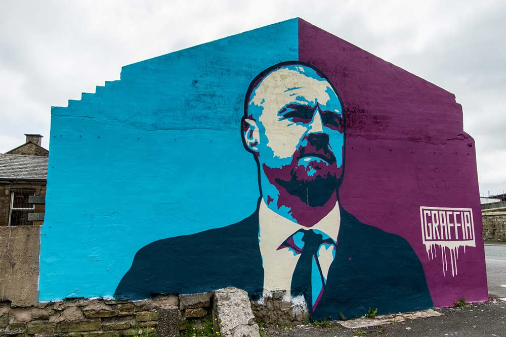 Sean Dyche Burnley FC manager